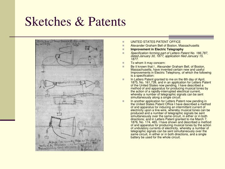 Sketches & Patents