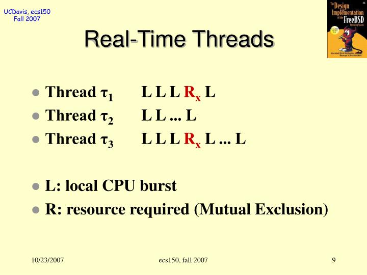 Real-Time Threads