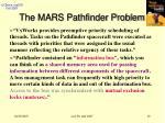 the mars pathfinder problem1