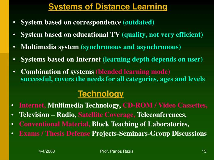 Systems of