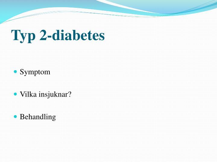Typ 2-diabetes