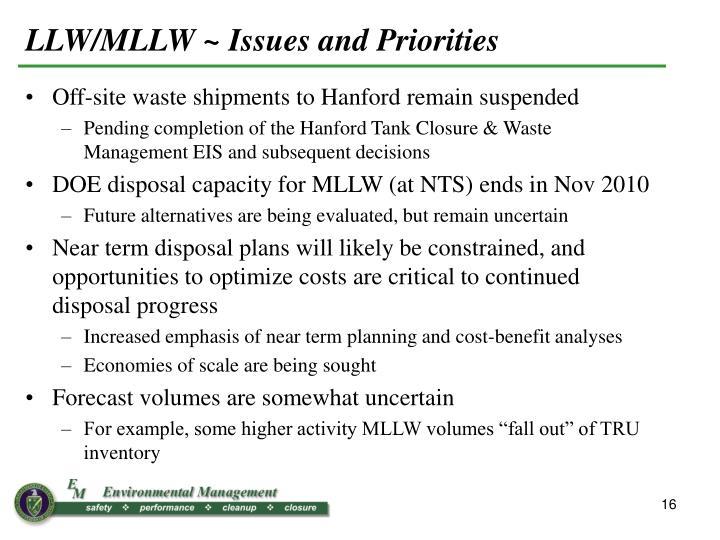 LLW/MLLW