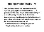 the previous rules v