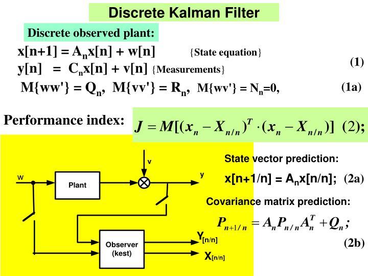 Discrete Kalman Filter