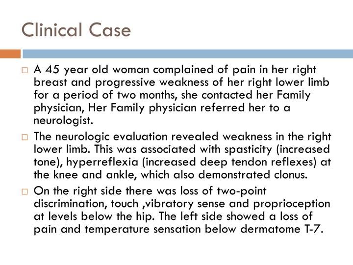 Clinical Case