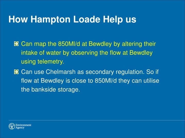 How Hampton Loade Help us