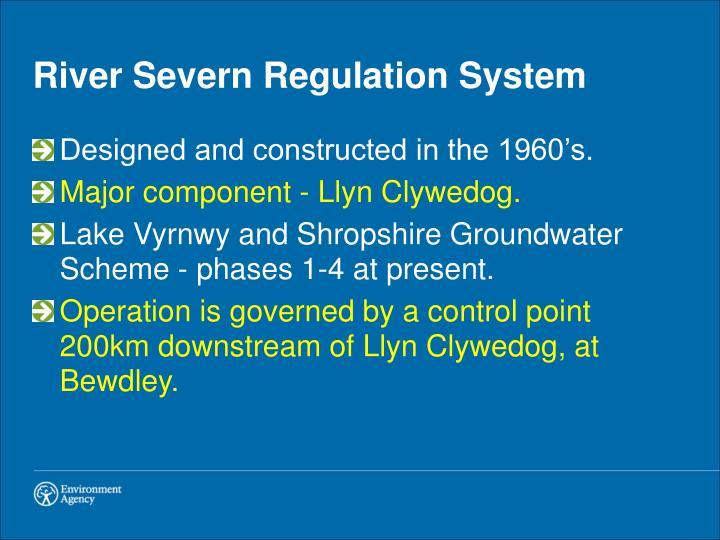 River Severn Regulation System