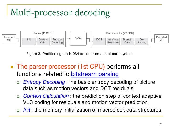 Multi-processor decoding