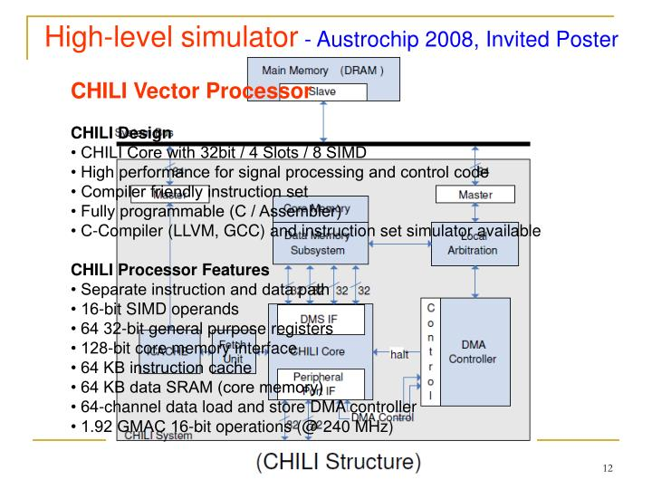 High-level simulator