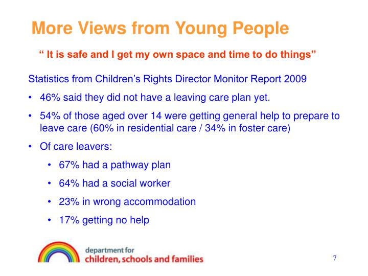 More Views from Young People