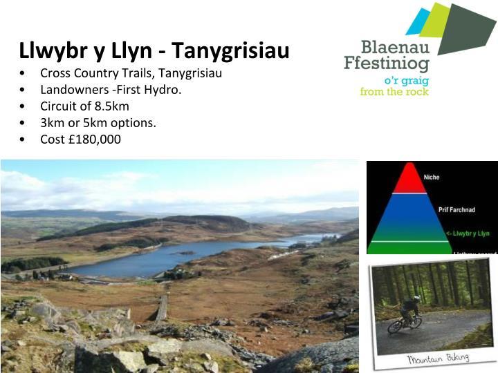 Llwybr y Llyn - Tanygrisiau