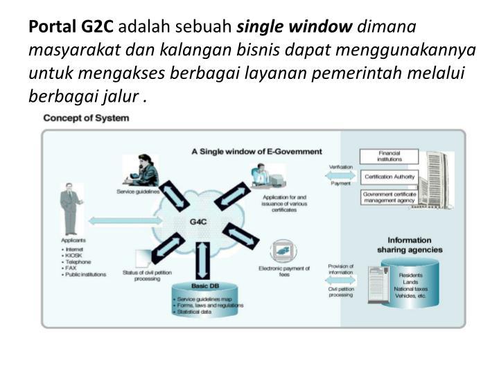Portal G2C