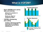what is vofdm