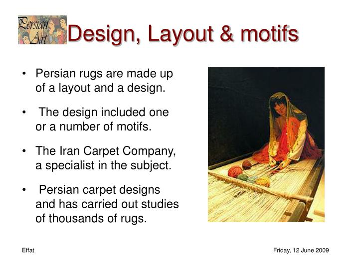 Design, Layout &