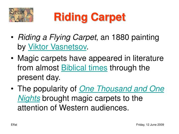 Riding Carpet