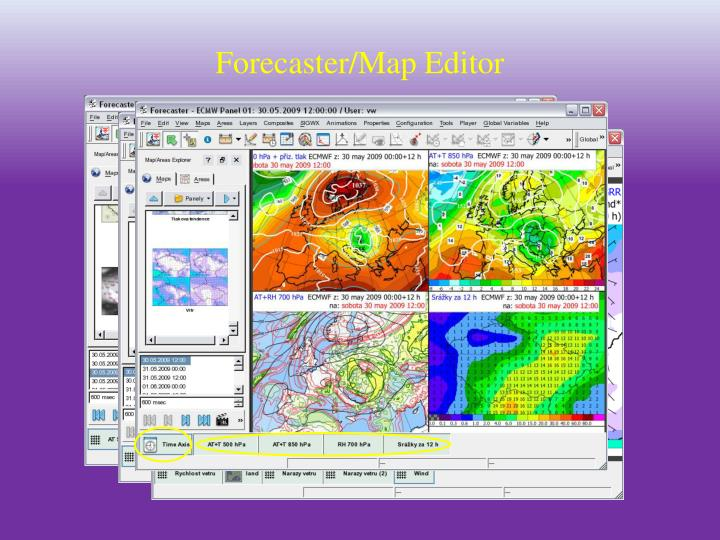Forecaster/Map Editor