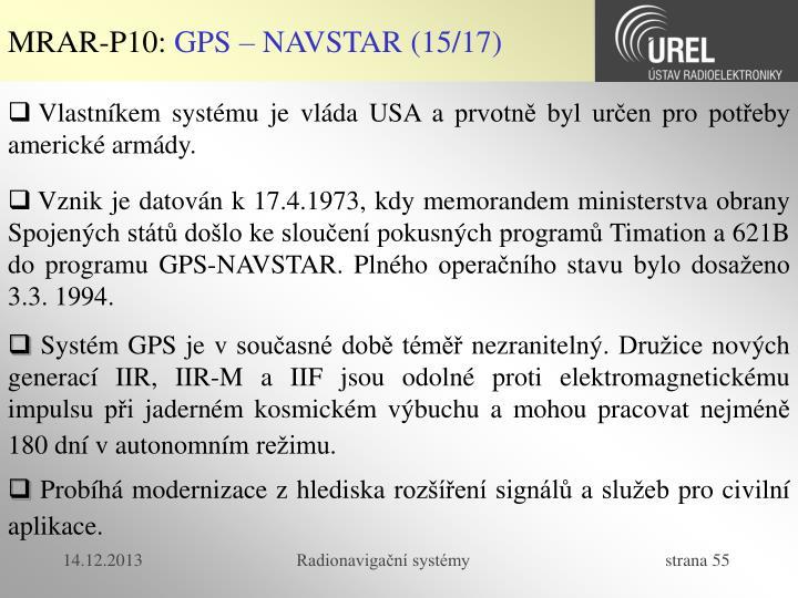 MRAR-P10