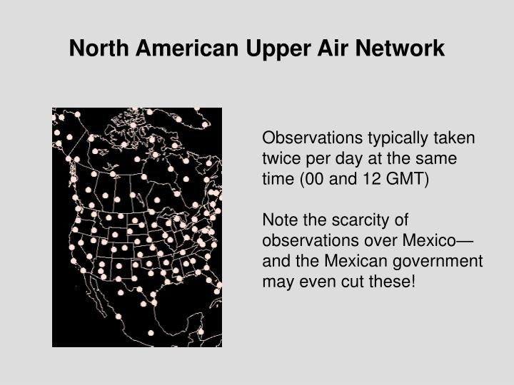 North American Upper Air Network