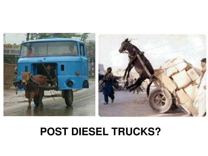 POST DIESEL TRUCKS?