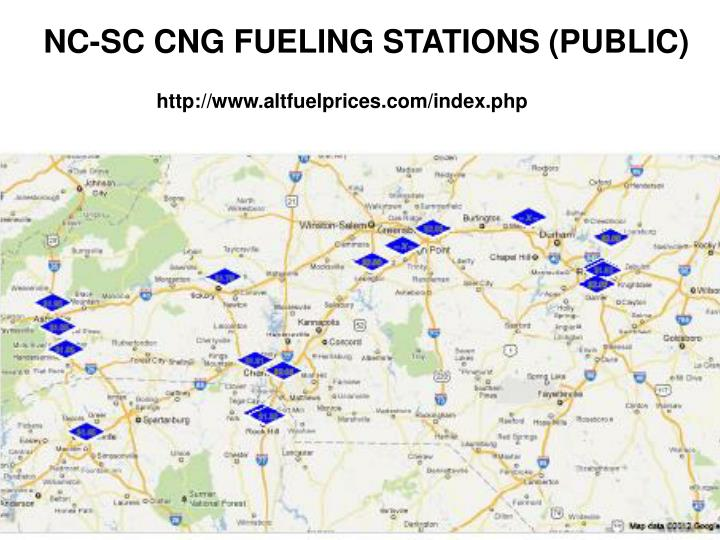 NC-SC CNG FUELING STATIONS (PUBLIC)
