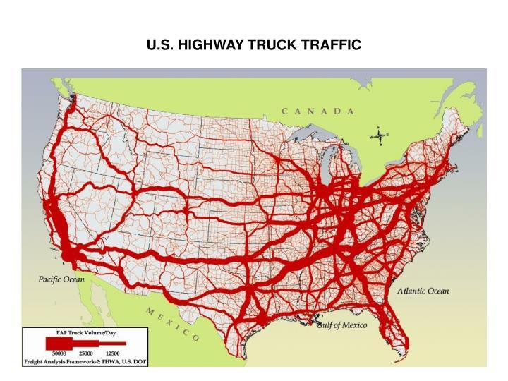 U.S. HIGHWAY TRUCK TRAFFIC