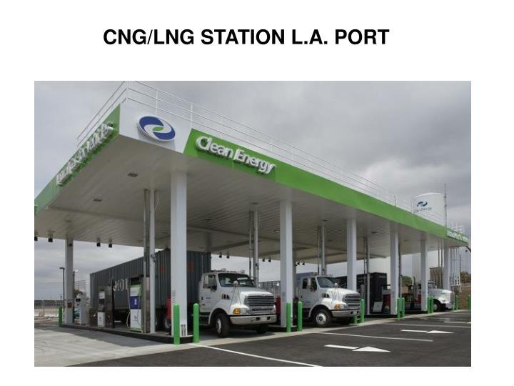CNG/LNG STATION L.A. PORT