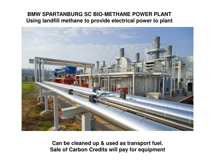 BMW SPARTANBURG SC BIO-METHANE POWER PLANT