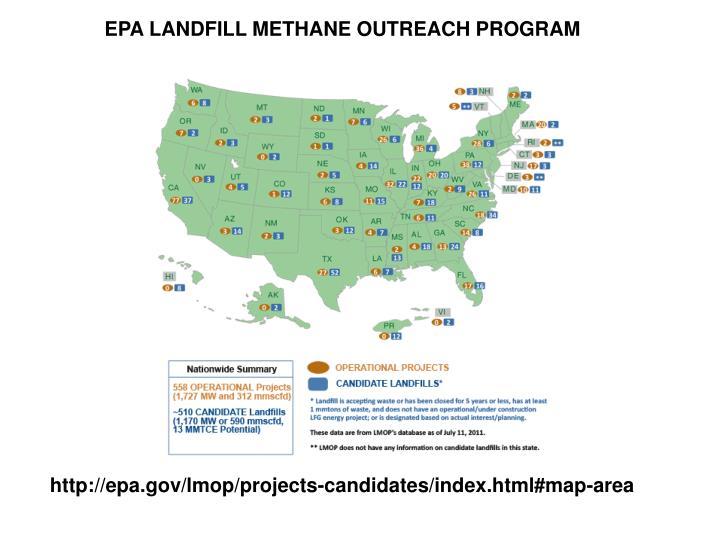 EPA LANDFILL METHANE OUTREACH PROGRAM