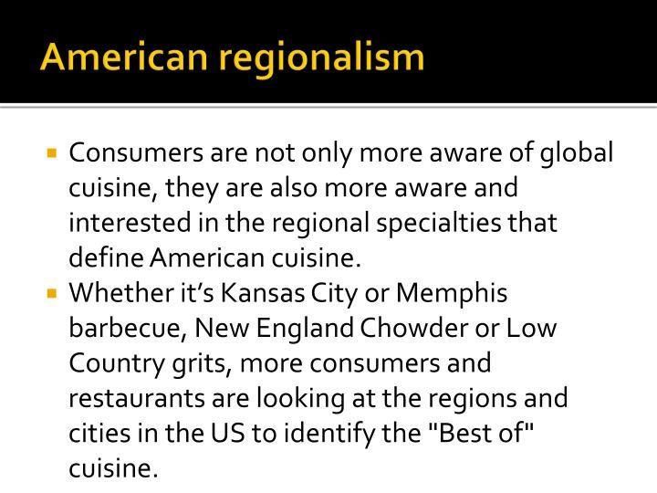 American regionalism