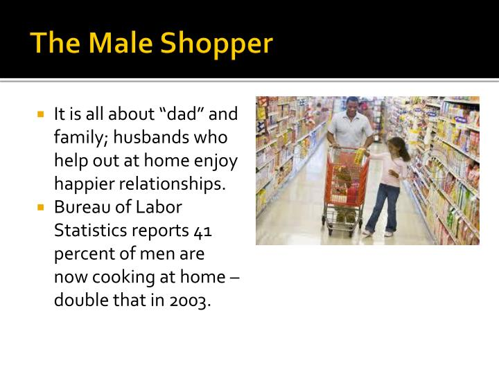 The Male Shopper