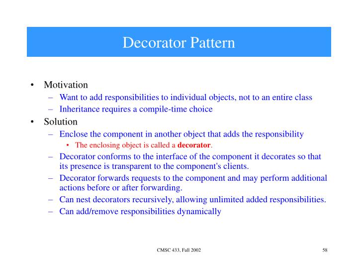 Decorator Pattern