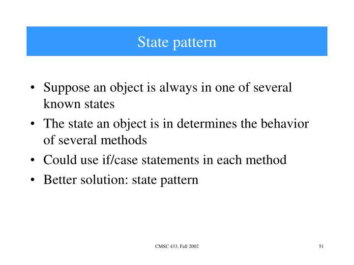 State pattern