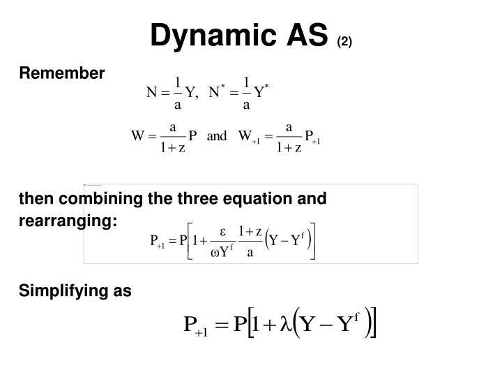 Dynamic AS
