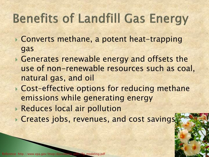 Benefits of Landfill Gas Energy