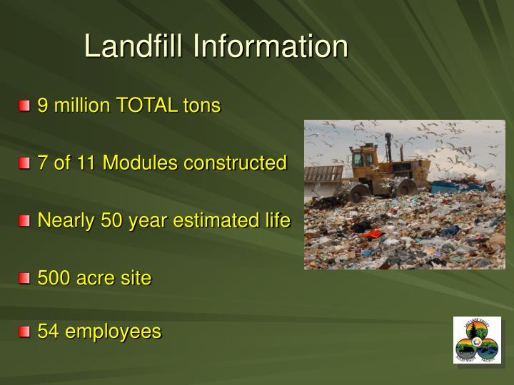 Landfill Information