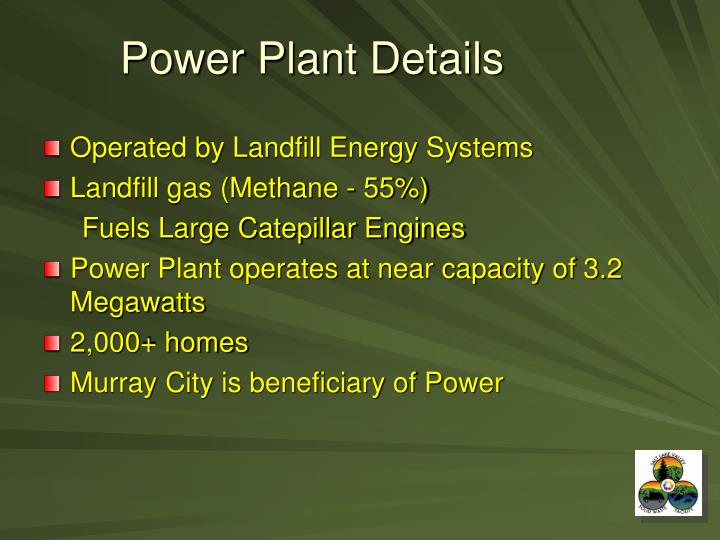 Power Plant Details