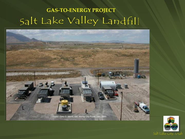 GAS-TO-ENERGY PROJECT
