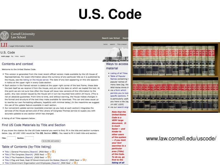U.S. Code