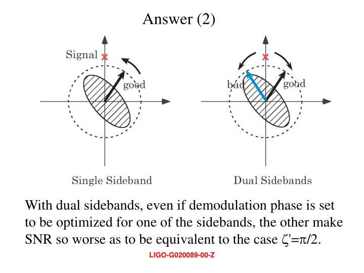 Answer (2)