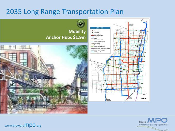 2035 Long Range Transportation Plan