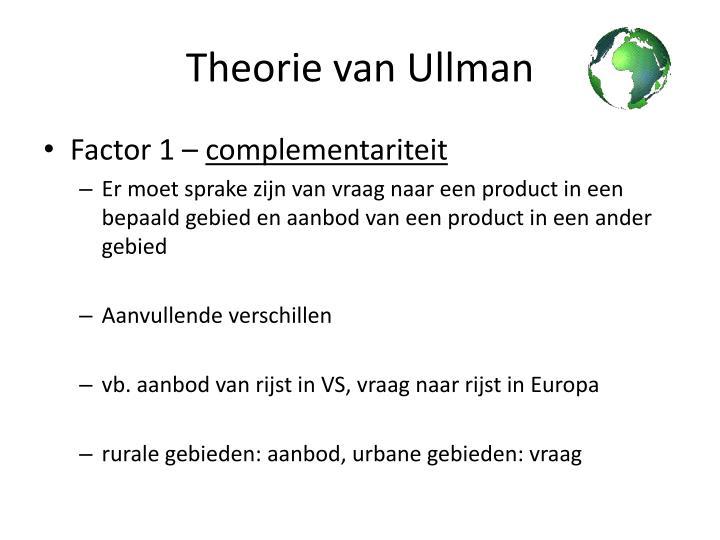 Theorie van Ullman