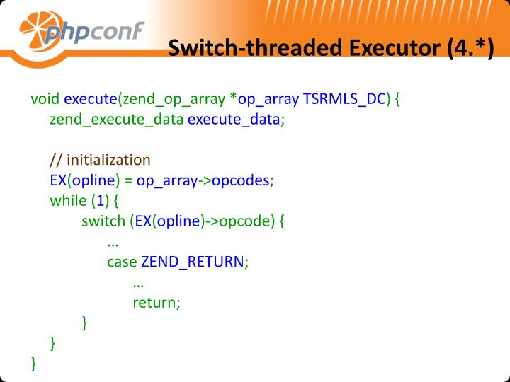 Switch-threaded Executor (4.*)