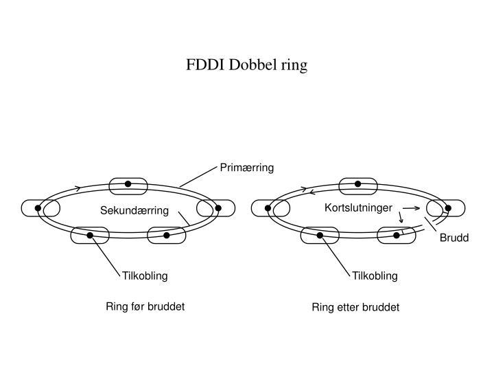 FDDI Dobbel ring