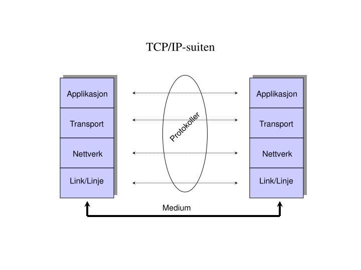 TCP/IP-suiten