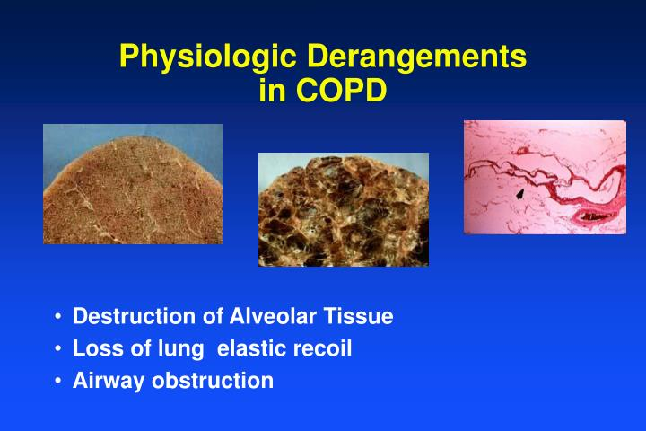 Physiologic Derangements in COPD