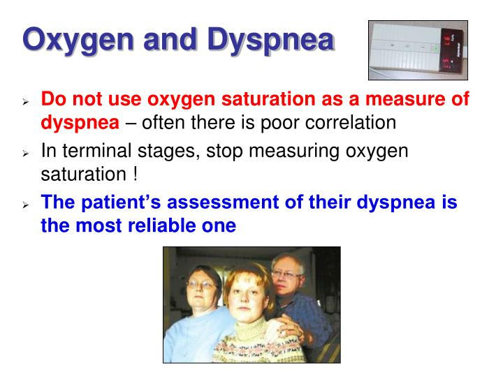 Oxygen and Dyspnea