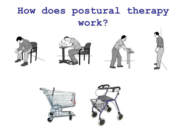 How does postural therapy work?