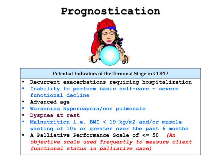 Prognostication