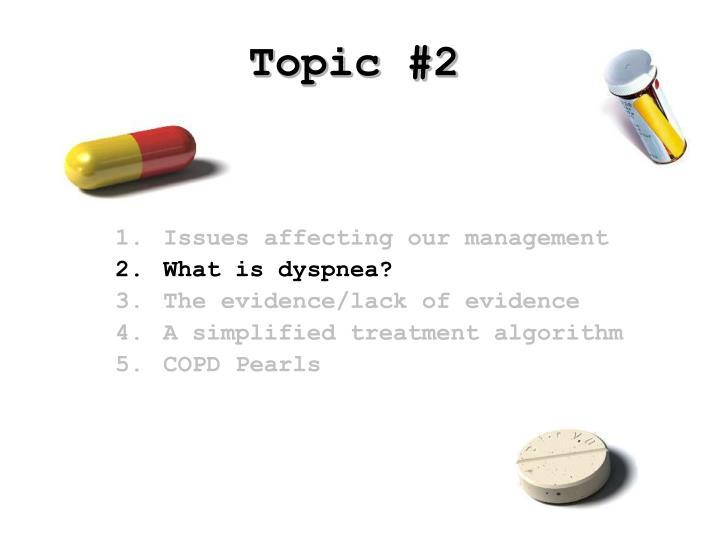 Topic #2