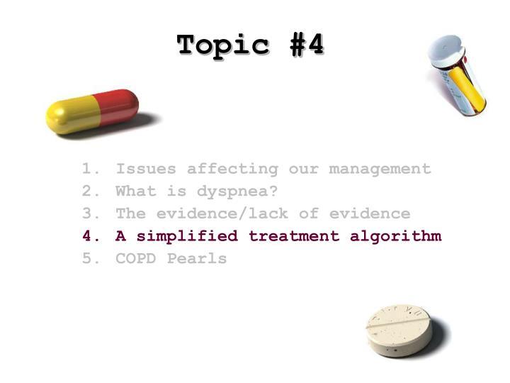 Topic #4